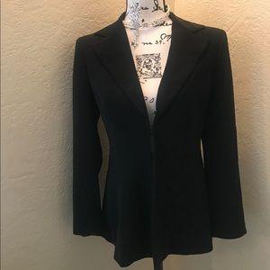 Bebe Black Tuxedo Jacket Size 4